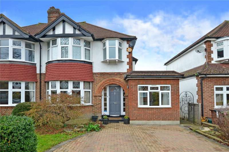 4 Bedrooms Semi Detached House for sale in Woodlands Avenue, Worcester Park, Surrey, KT4