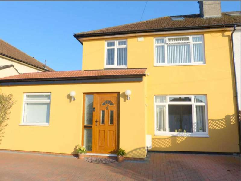 4 Bedrooms Semi Detached House for sale in Sullivan Way, Elstree