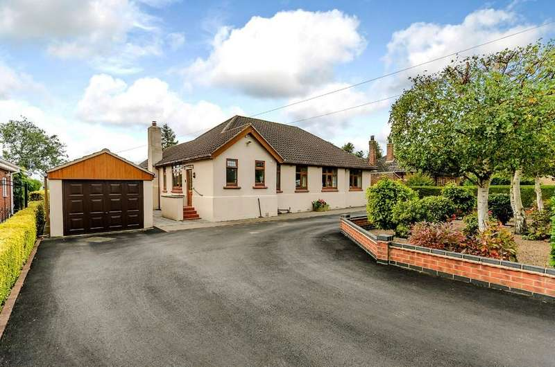 3 Bedrooms Detached Bungalow for sale in Bigby High Road, Brigg.