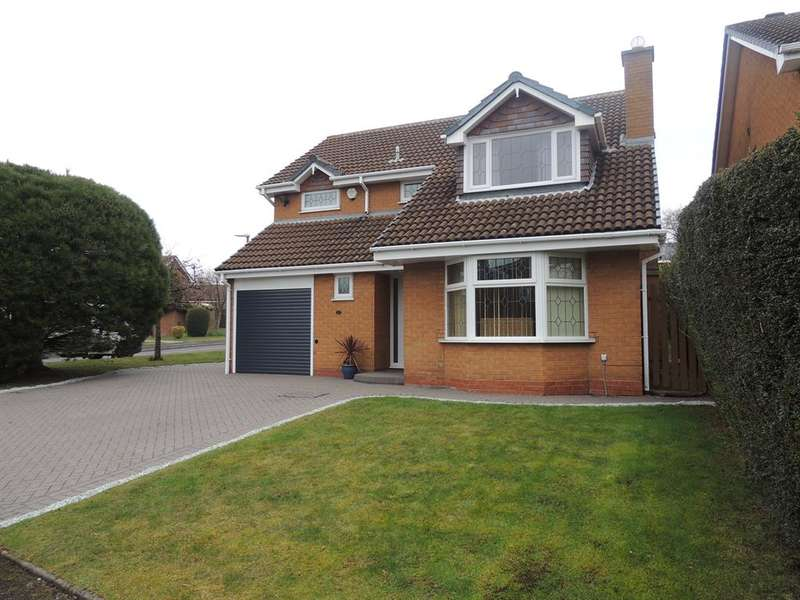 4 Bedrooms Detached House for sale in Bridge Meadow Drive, Knowle