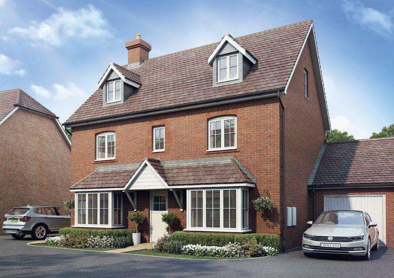 5 Bedrooms Detached House for sale in Bishop Park, Henfield