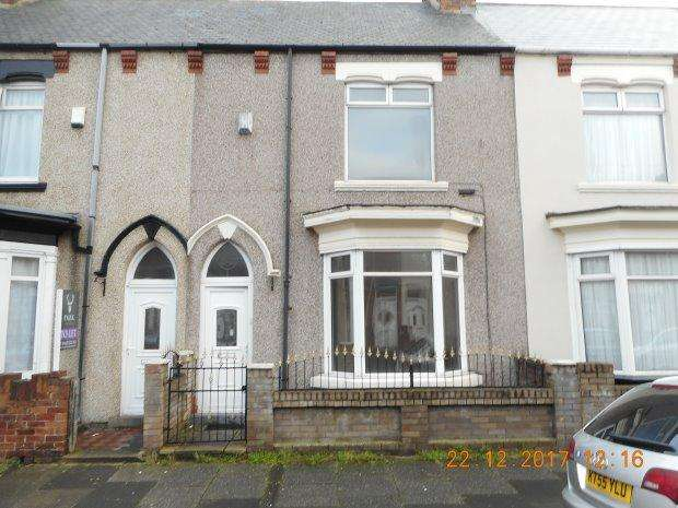 3 Bedrooms Terraced House for rent in THORNVILLE ROAD, GRANGE ROAD, HARTLEPOOL