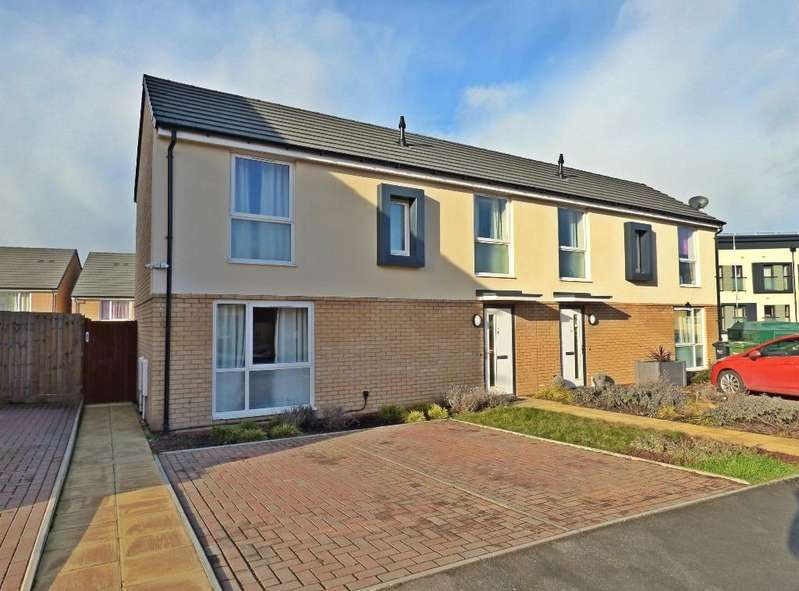 3 Bedrooms End Of Terrace House for sale in Woodward Avenue, Newton Farm, Hereford, HR2 7FH