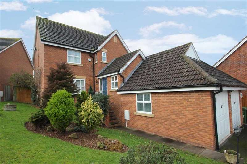 4 Bedrooms Detached House for sale in Godiva Road, Leominster