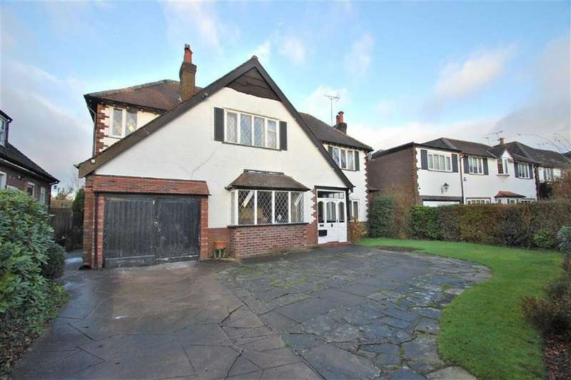 4 Bedrooms Detached House for sale in Hartington Road, Bramhall, Cheshire