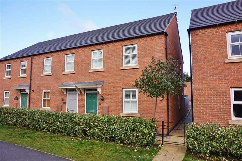 3 Bedrooms End Of Terrace House for sale in Kibworth Harcourt