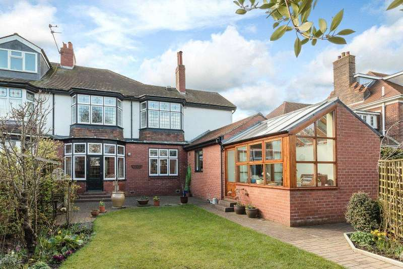 5 Bedrooms Semi Detached House for sale in Mitchell Avenue, Jesmond, Newcastle Upon Tyne, Tyne And Wear