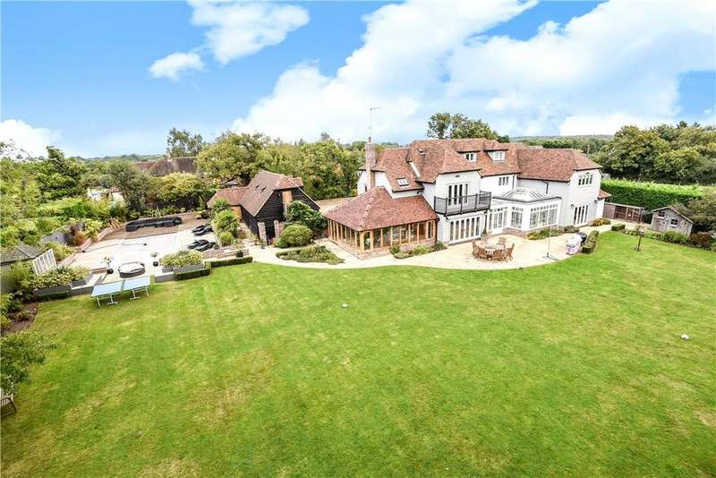 5 Bedrooms Detached House for sale in Standon Green End, High Cross, Ware, Hertfordshire, SG11