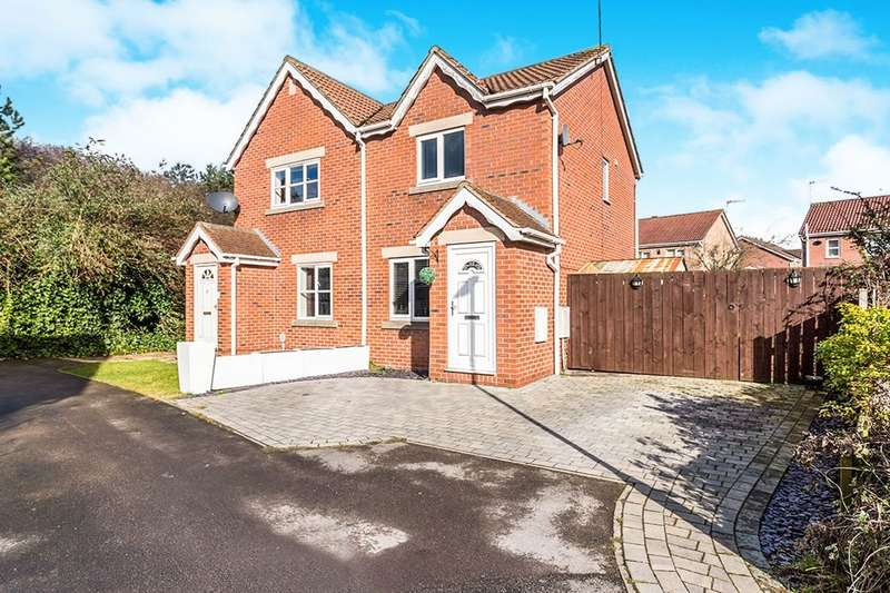 2 Bedrooms Semi Detached House for sale in Bridgegate Drive, Victoria Dock, Hull, HU9