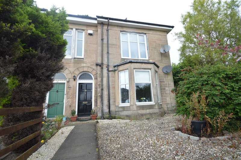 2 Bedrooms Apartment Flat for sale in Calder Road, Mossend, nr Bellshill - traditional conversion, ground floor