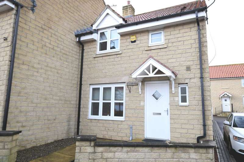 3 Bedrooms End Of Terrace House for sale in Overgreen View, Burniston, Scarborough, North Yorkshire YO13 0HZ
