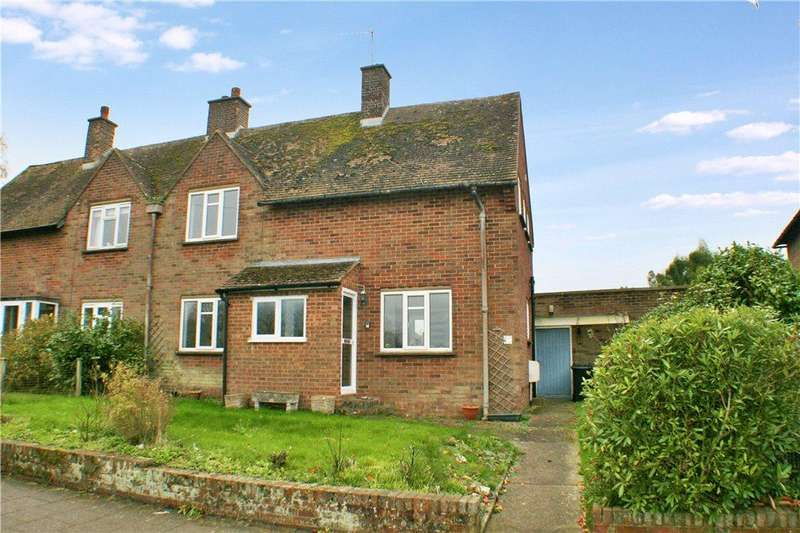 3 Bedrooms Semi Detached House for sale in Churchfield Way, Wye, Ashford, Kent