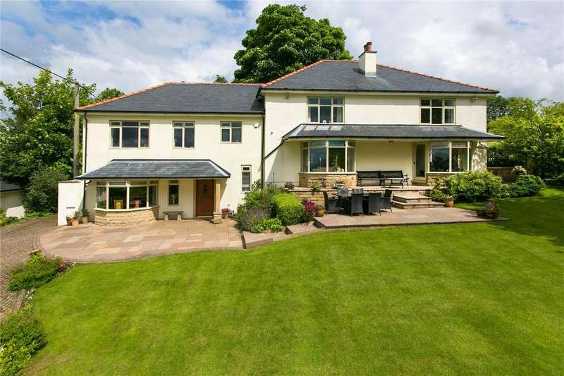 5 Bedrooms Detached House for sale in Stopper Lane, Rimington, Clitheroe, Lancashire, BB7