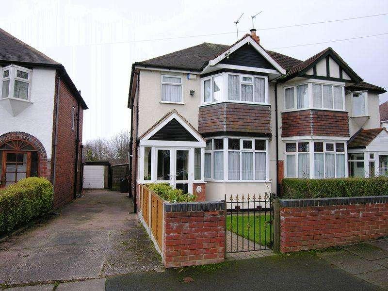 3 Bedrooms Semi Detached House for sale in Elmbridge Road, Birmingham