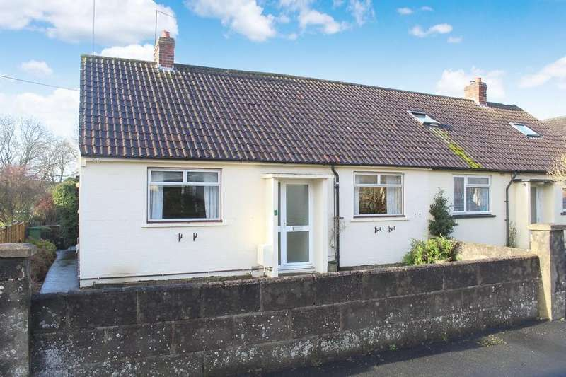2 Bedrooms Semi Detached Bungalow for sale in Enfield Drive, Shepton Mallet