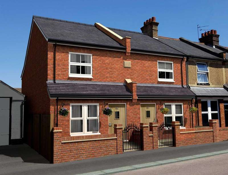 3 Bedrooms Semi Detached House for sale in Cecil Street, Watford, Hertfordshire, WD24