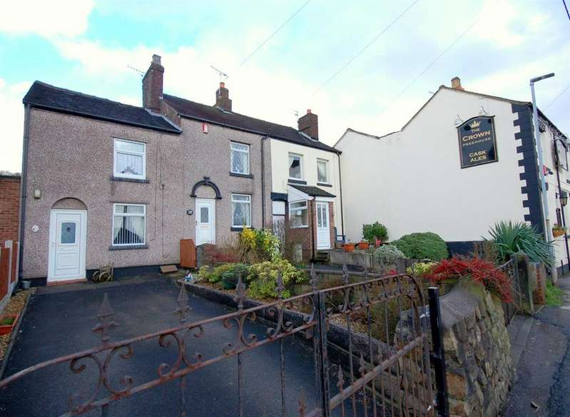 2 Bedrooms Cottage House for sale in Chapel Street, Mow Cop