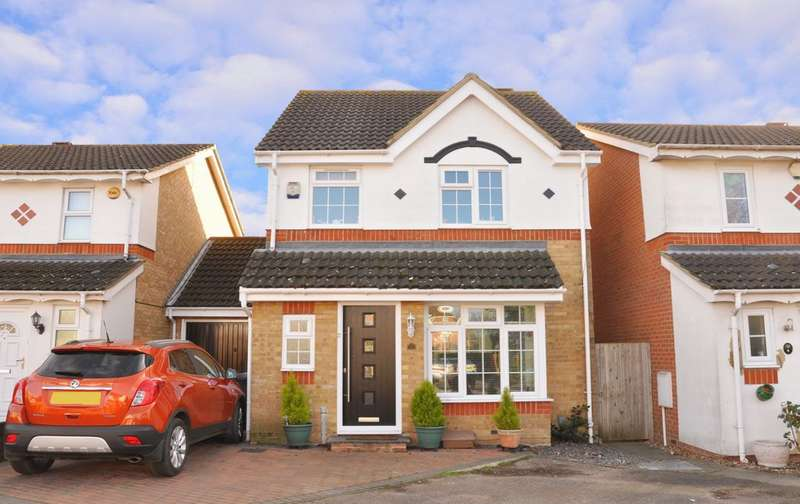 3 Bedrooms Link Detached House for sale in Alsop Close, London Colney, AL2