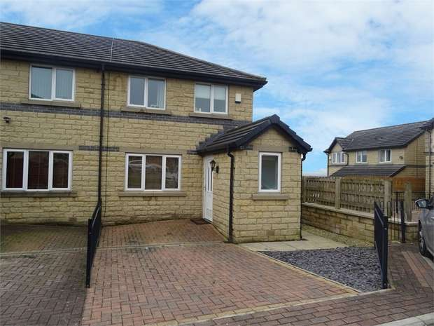 3 Bedrooms Semi Detached House for sale in Coleshill Way, Bradford, West Yorkshire