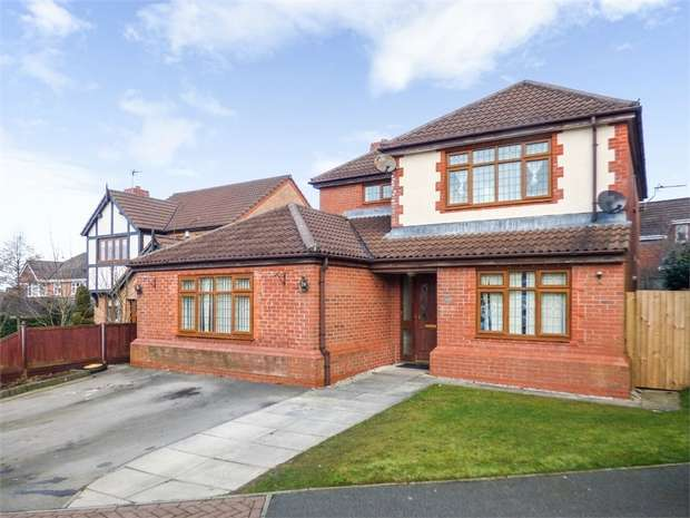 4 Bedrooms Detached House for sale in Burgh Wood Way, Chorley, Lancashire