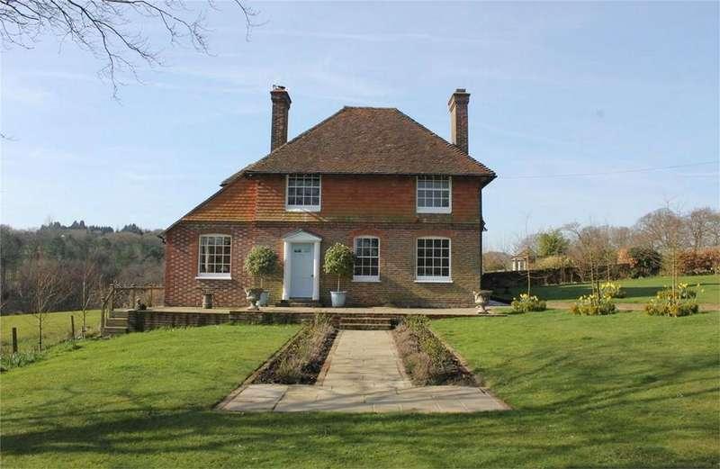 4 Bedrooms Detached House for sale in Battle Road, BRIGHTLING, East Sussex