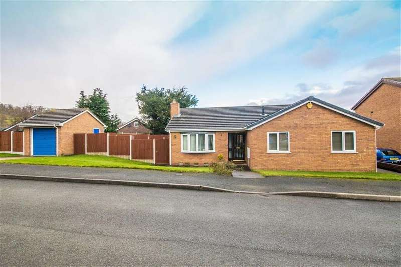 3 Bedrooms Detached Bungalow for sale in Caer Felin, Llanrhaeadr, Denbigh