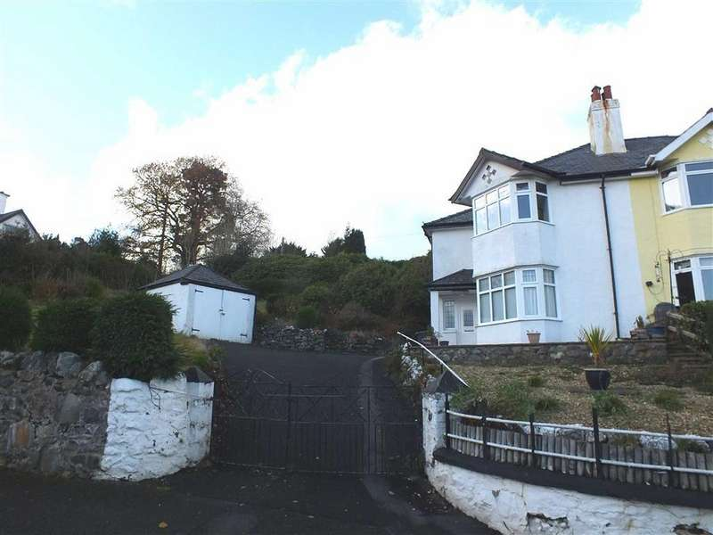 3 Bedrooms Semi Detached House for sale in Trefriw