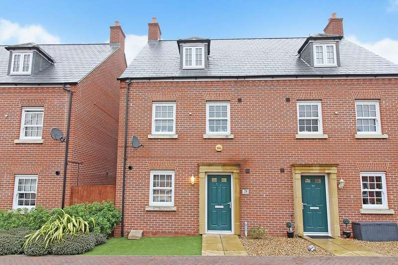 4 Bedrooms Semi Detached House for sale in Bridge View, Shefford, SG17