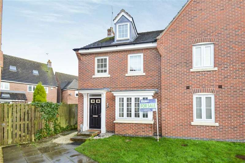 3 Bedrooms Semi Detached House for sale in Pickering Grange, Brough