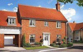 4 Bedrooms Link Detached House for sale in Birch Gate, Silfield Road, Wymondham, Norfolk, NR18