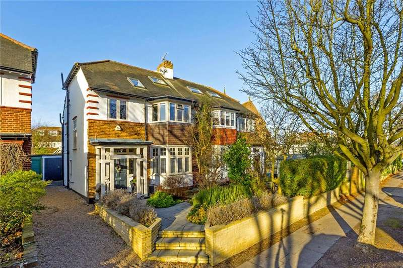 4 Bedrooms Semi Detached House for sale in Park Drive, East Sheen, London, SW14