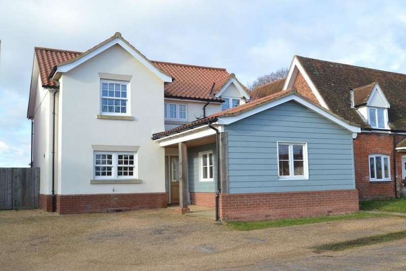 4 Bedrooms Detached House for sale in 3 Bucks Horn Place Belstead