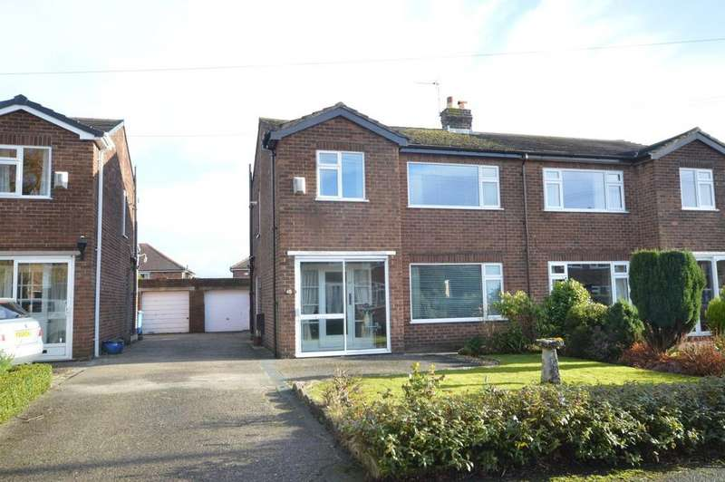 3 Bedrooms Semi Detached House for sale in Acton Avenue, Appleton, Warrington