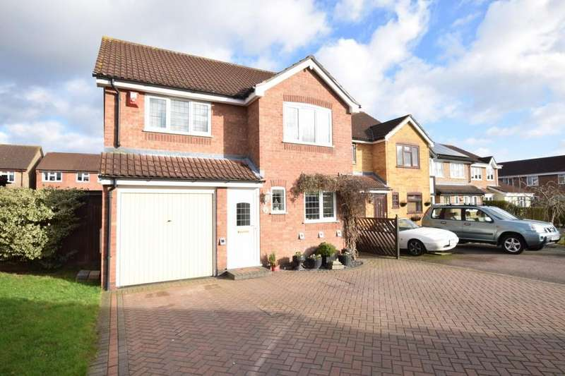 4 Bedrooms Detached House for sale in Great Cornard, Sudbury CO10 0JX
