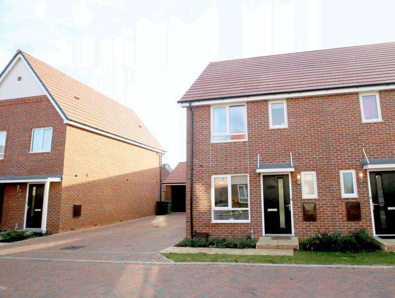 2 Bedrooms Semi Detached House for rent in Bartone Place, Thame