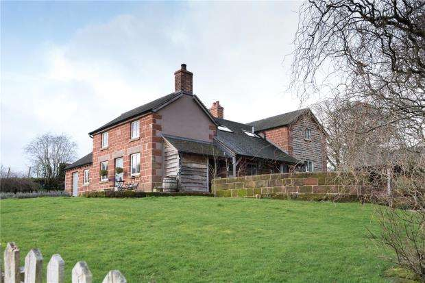 4 Bedrooms Detached House for sale in Mulberry Cottage, Weston Heath, Weston, Shrewsbury