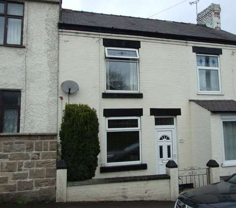 2 Bedrooms Terraced House for sale in Ella Bank Road, Heanor, Derbyshire, DE75