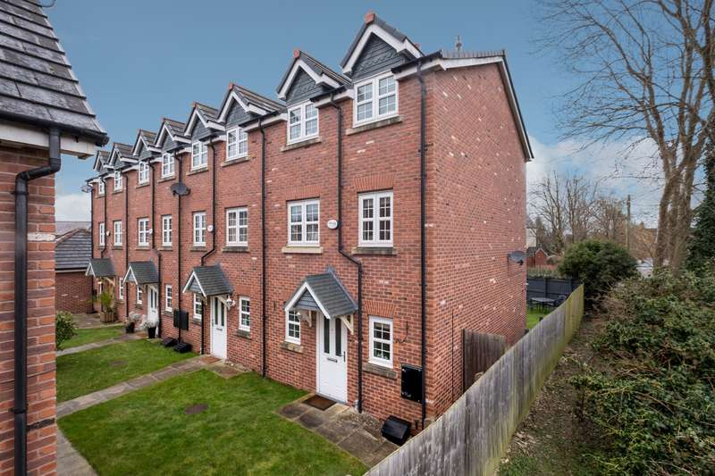 4 Bedrooms Town House for sale in 4 bedroom Town House End of Terrace in Northwich