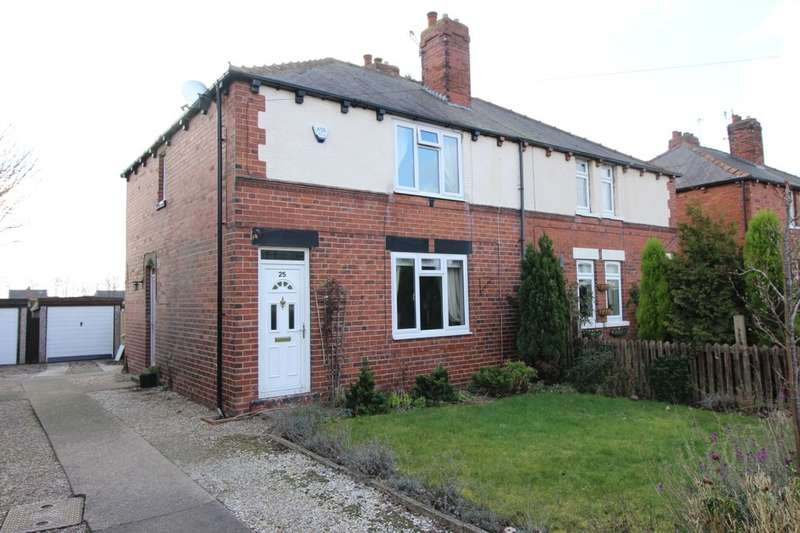 3 Bedrooms Semi Detached House for sale in Savile Road, Methley, Leeds, LS26