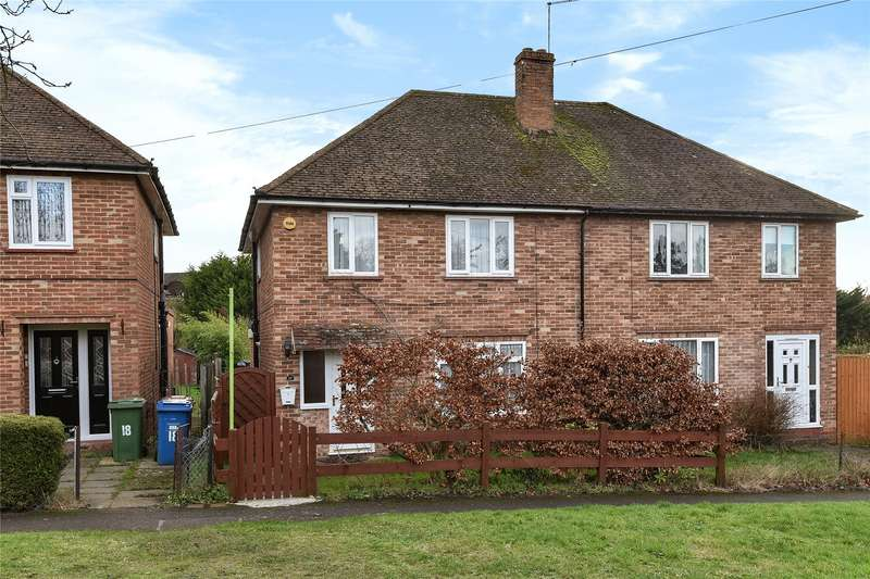 3 Bedrooms Semi Detached House for sale in Wellington Close, Sandhurst, Berkshire, GU47