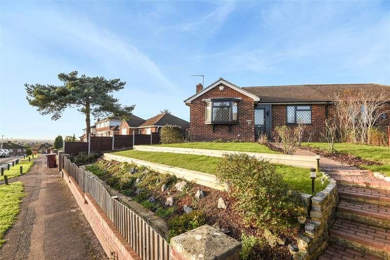 2 Bedrooms Semi Detached Bungalow for sale in Birdhill Avenue, Reading, Berkshire, RG2