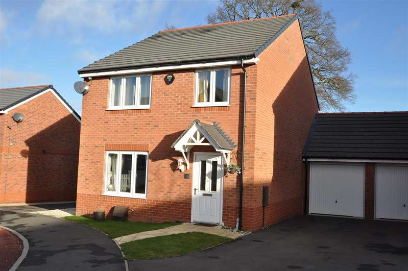 4 Bedrooms Detached House for sale in Brook Meadow, Wychbold, Droitwich
