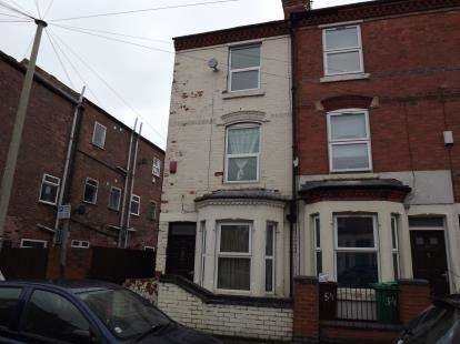 4 Bedrooms End Of Terrace House for sale in Wimbourne Road, Nottingham