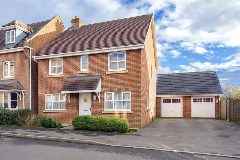 4 Bedrooms Detached House for sale in Chaffinch Road, Four Marks, Alton, Hampshire