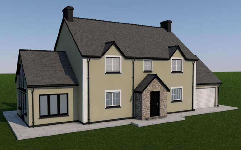 4 Bedrooms Detached House for sale in Aberbanc, Llandysul, Ceredigion SA44