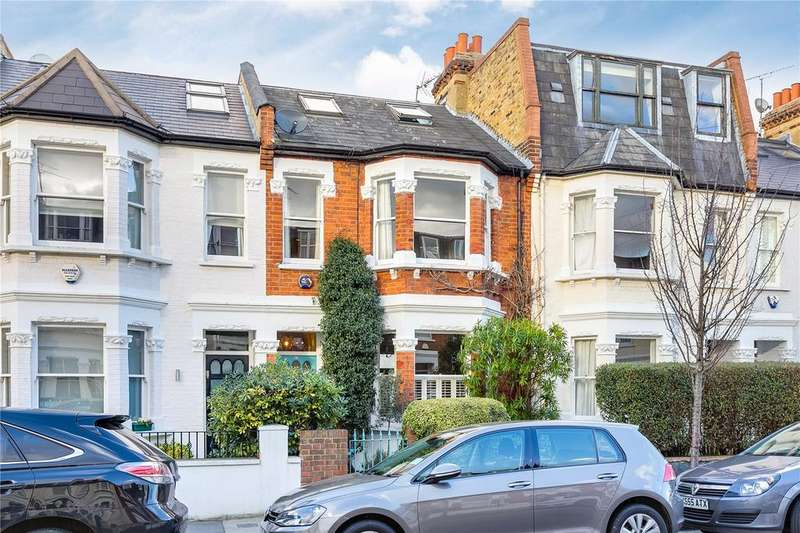 4 Bedrooms Terraced House for sale in Lysia Street, Bishops Park, London