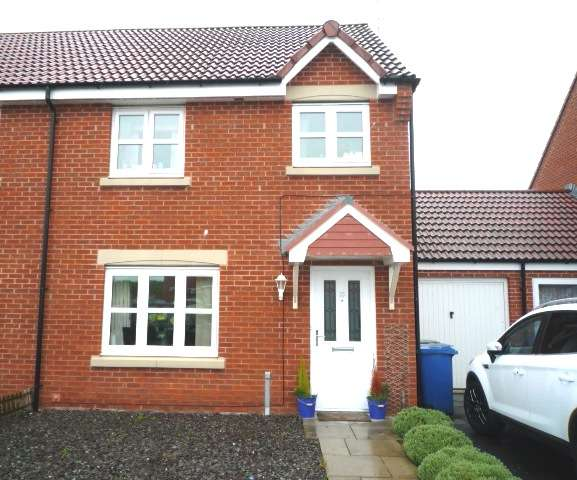 3 Bedrooms Semi Detached House for rent in Beachcroft, Hadston, Morpeth, Northumberland, NE65 9RH
