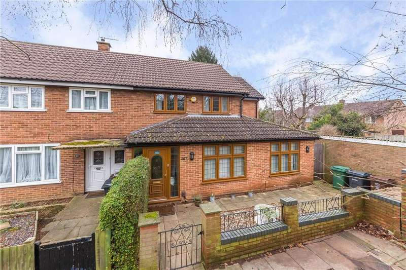 3 Bedrooms End Of Terrace House for sale in Cell Barnes Lane, St. Albans, Hertfordshire