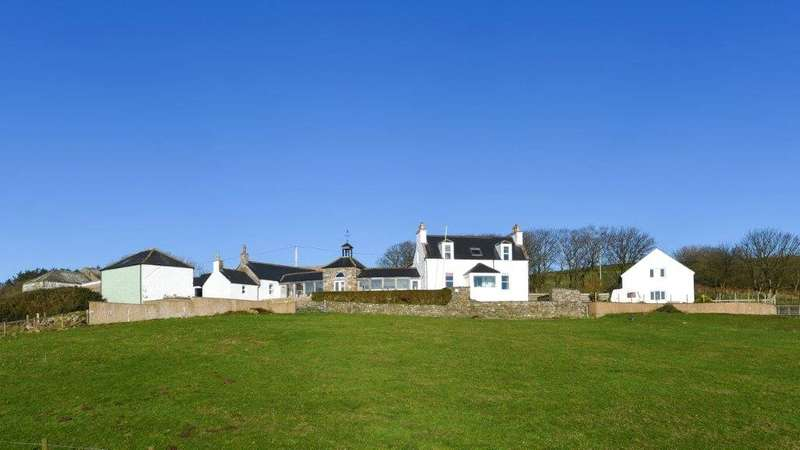 4 Bedrooms Detached House for sale in Shawhill House & Cottage, Dundrennan, Kirkcudbright, Dumfries and Galloway, DG6