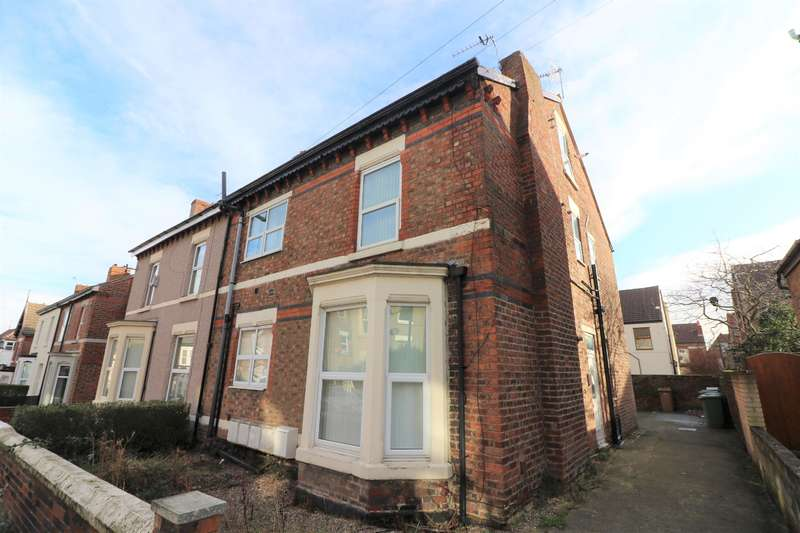 1 Bedroom Flat for sale in Cumberland Road, Wallasey, CH45 1HY